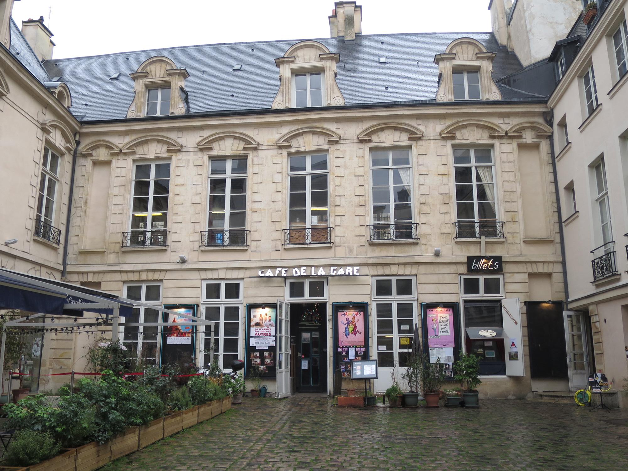 Spectacle Caf Ef Bf Bd De La Gare Paris